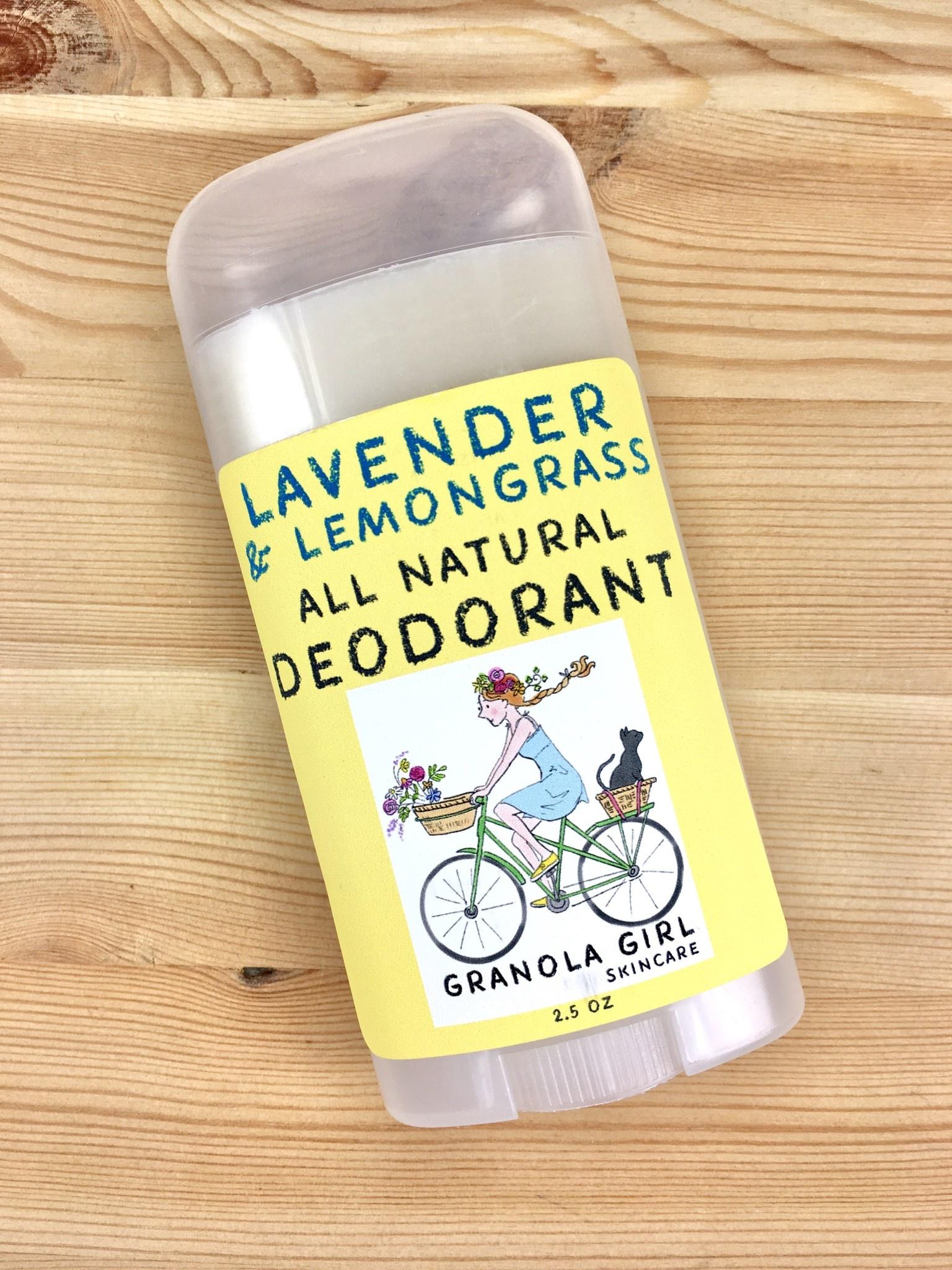 Granola Girl Skincare /Teehaus Bath + Body Lavender & Lemongrass Deodorant