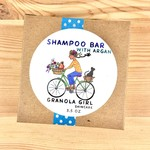 Granola Girl Skincare /Teehaus Bath + Body Rosemary Peppermint + Argan Shampoo Bar