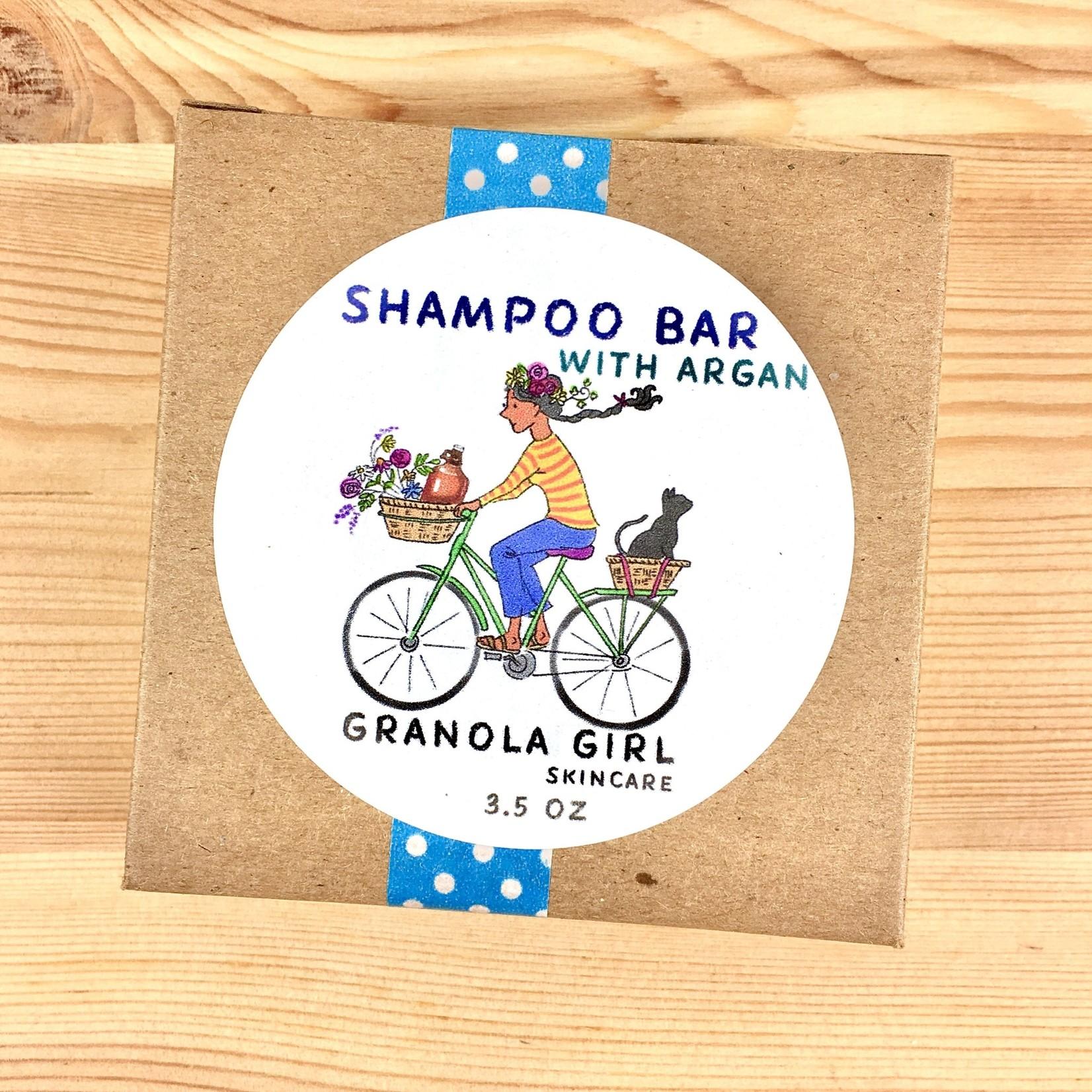 Granola Girl Skincare /Teehaus Bath + Body (QO) Rosemary Peppermint + Argan Shampoo Bar