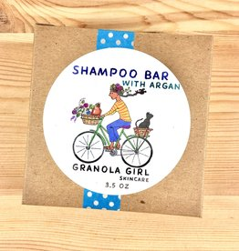 Granola Girl Skincare /Teehaus Bath + Body Rosemary Peppermint + Argan Shampoo Bar