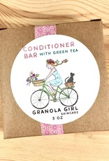 Granola Girl Skincare /Teehaus Bath + Body Camellia + Green Tea Conditioner Bar