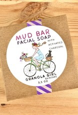 Granola Girl Skincare /Teehaus Bath + Body Mud + Activated Charcoal Facial Bar