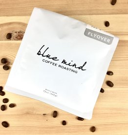 Blue Mind Roasting Flyover - Honduras Ethiopia Yirgacheffe Whole Bean Coffee Bag 12oz. Bag