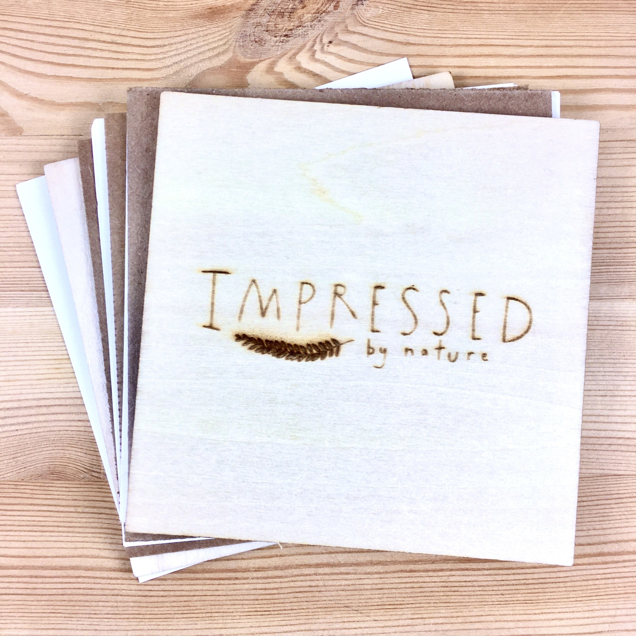 Impressed by Nature Travel Size Wooden Flower Press Kit