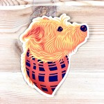John Vogl / The Bungaloo Loki Bandana Dog Sticker