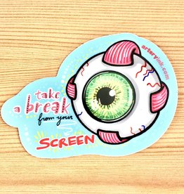 Artery Ink Screen Break Eye Reminder Sticker