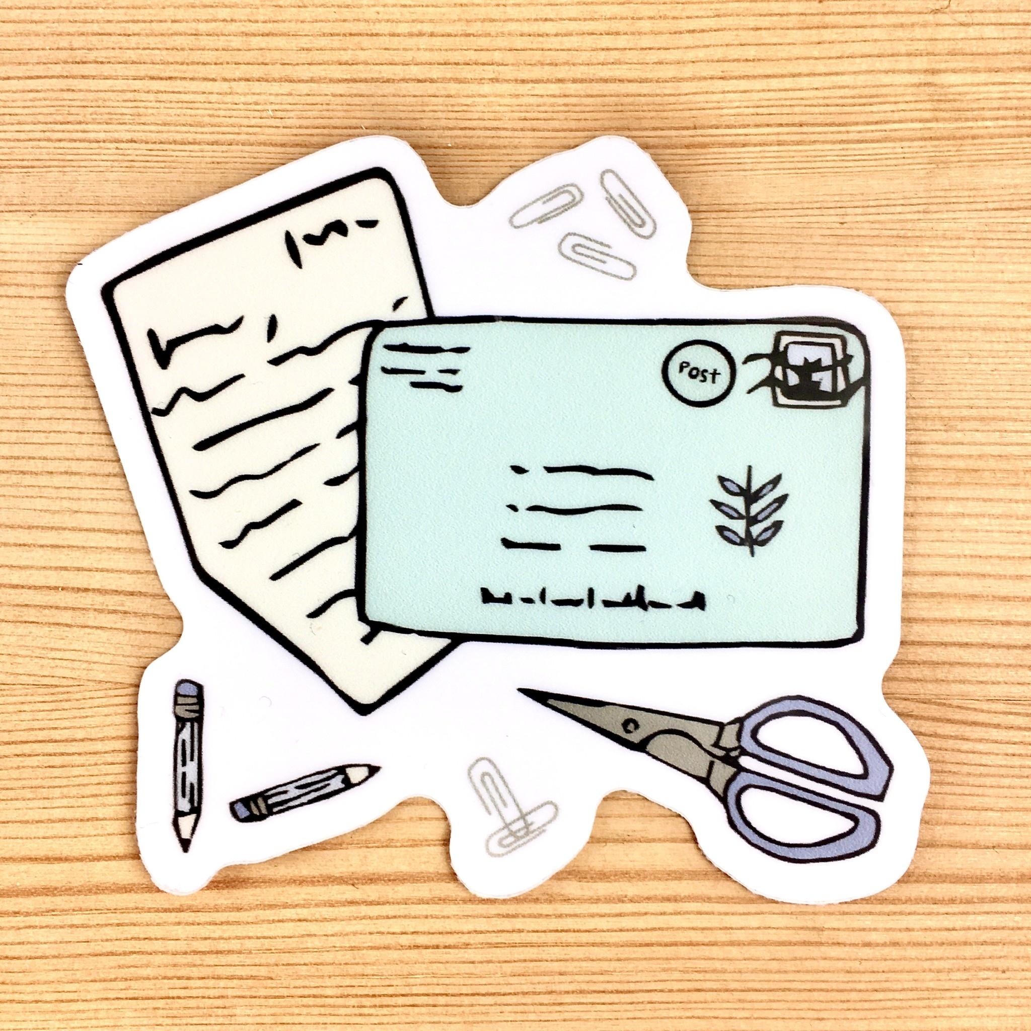 Lacelit Letterologist Vinyl Sticker