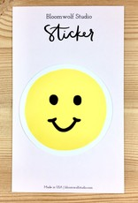 Bloomwolf Studio Smiley Face Sticker