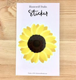 Bloomwolf Studio Sunflower Sticker