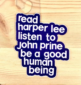 BadKneesTs Harper Lee Sticker