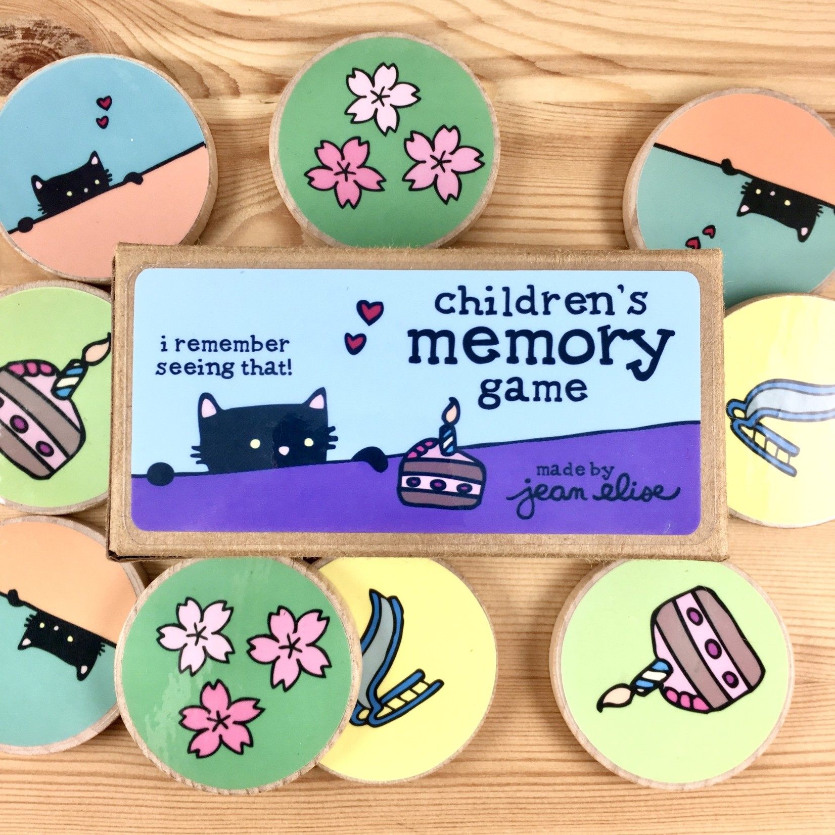 Jean Elise Designs Children's Memory Game