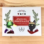 Berkley Illustration / Ryan Berkley Animal Portraits Playing Card Set