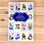 Berkley Illustration / Ryan Berkley Animal Portraits Memory Game