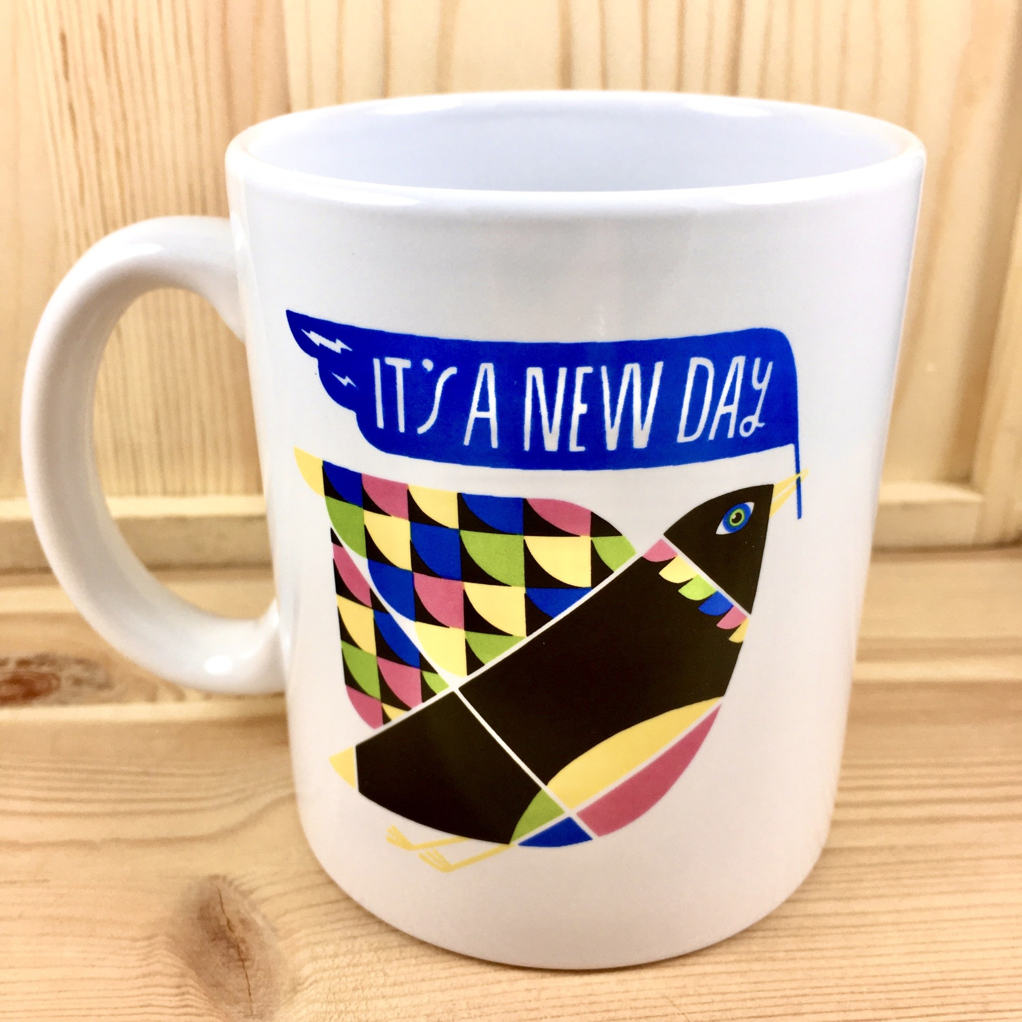 Emily McDowell & Friends Bird It's A New Day Mug