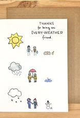 Lacelit Every-Weather Friends Greeting Card