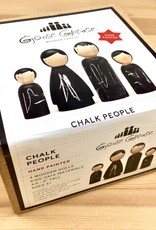 Goose Grease The Chalk People Wooden Peg Dolls