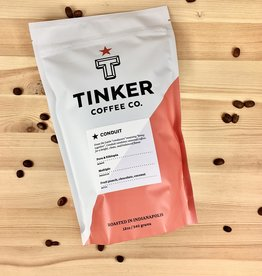 Tinker Coffee Co. Conduit - Peru + Ethiopia Whole Bean Coffee - 12oz. Bag