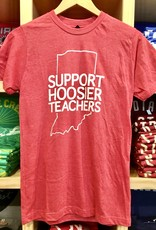 BadKneesTs IN Support Hoosier Teachers Tee