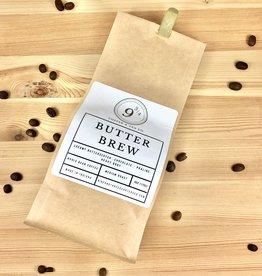 9 3/4 Coffee & Tea Butter Brew Whole Bean Coffee 6oz. Bag