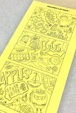 Nourishing Notes 15 Food Superhero Coloring Placemats