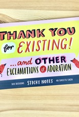 Emily McDowell & Friends Thank You Sticky Note Packet