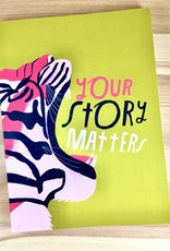 Emily McDowell & Friends Your Story Matters Tiger Journal
