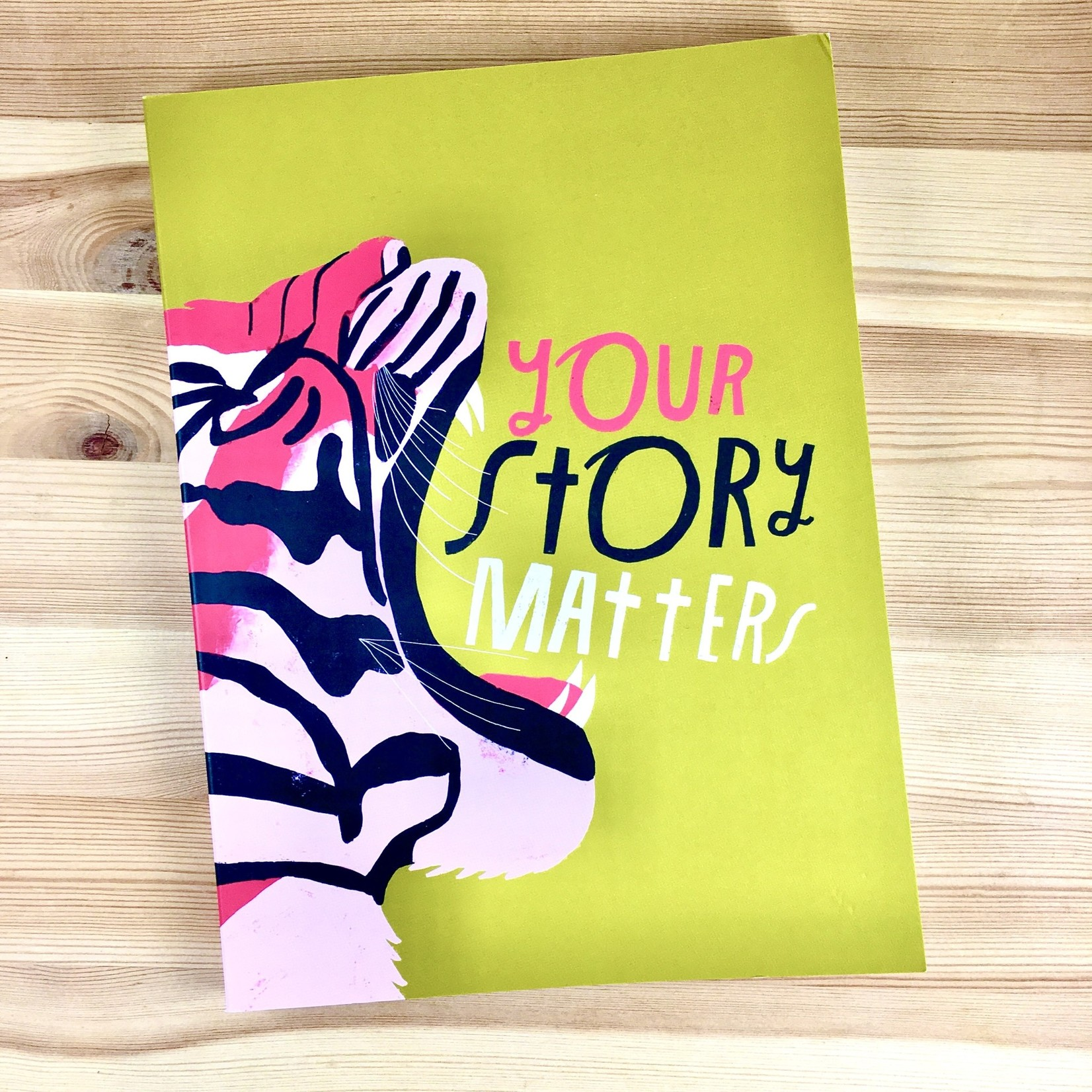 Em & Friends / Emily McDowell & Friends / Emily McDowell Studio Your Story Matters Tiger Journal