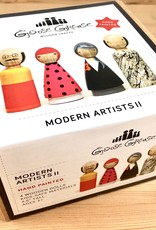 Goose Grease The Modern Artists: II Wooden Peg Dolls