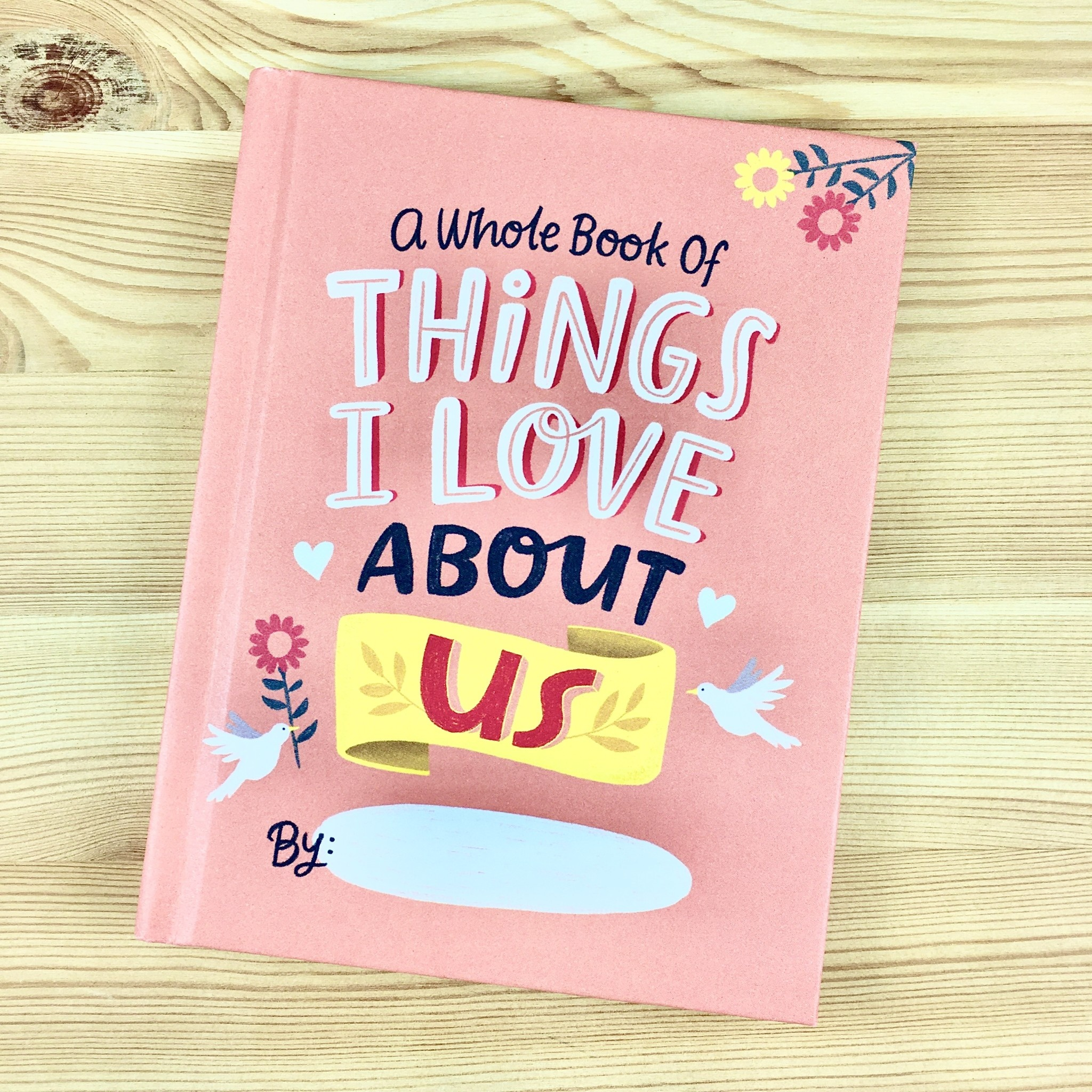 Emily McDowell & Friends Love About Us Fill-In Journal
