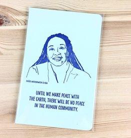 Blackbird Letterpress Ingrid Washinawatok El-Issa Notebook