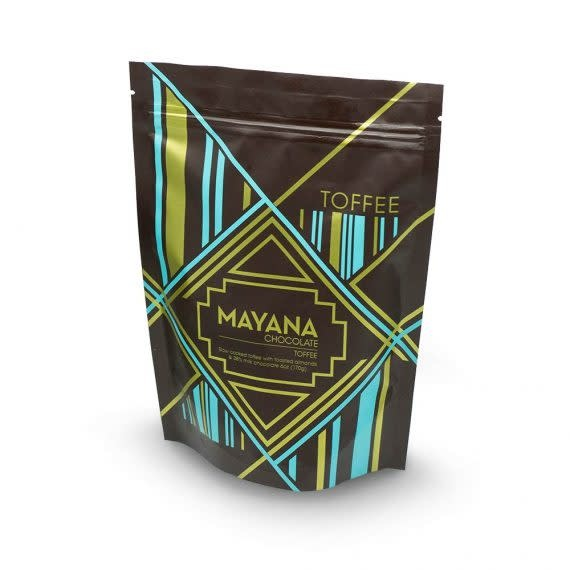 Mayana Chocolate Milk Chocolate Almond Toffee Bag