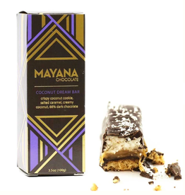 Mayana Chocolate Coconut Dream Chocolate Bar