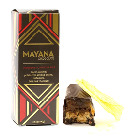 Mayana Chocolate Heavens To Bacon Chocolate Bar