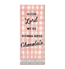 Curly Girl Design Good Lord Milk Chocolate Bar