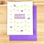 Iron Leaf Press Hoppy Easter Greeting Card