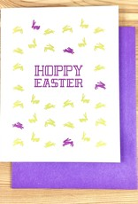 Iron Leaf Press Hoppy Easter Greeting Card