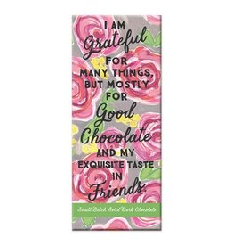 Curly Girl Design Exquisite Taste Dark Chocolate Bar