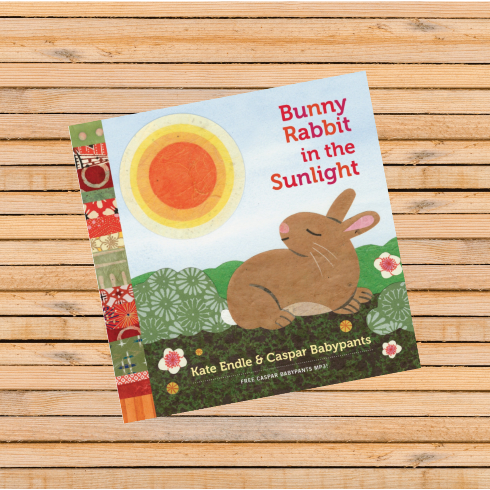 Kate Endle Bunny Rabbit in the Sunlight Book - Kate Endle