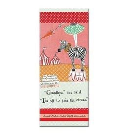 Curly Girl Design Circus Adventure Milk Chocolate Bar