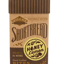 Willa's Shortbread Honey Lemon Shortbread Kraft Box