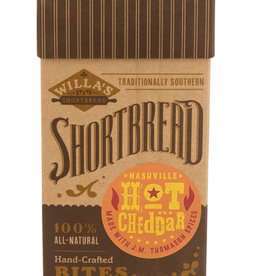 Willa's Shortbread Nashville Hot Cheddar Shortbread Kraft Box