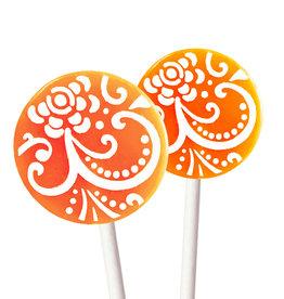 Popette Of Pendulum Mango Tangerine Lollipop