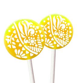 Popette Of Pendulum Lemon Lime Lollipop
