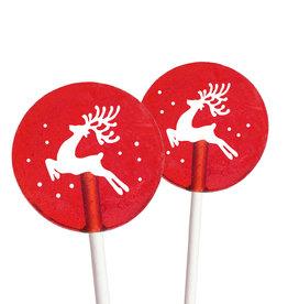 Popette Of Pendulum Red Velvet (Reindeer) Lollipop