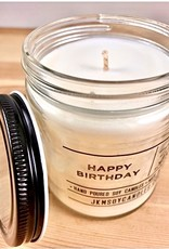 JKM Soy Candles BW: Happy Birthday Soy Candle