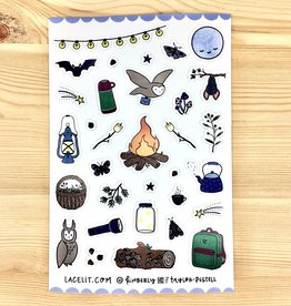 Lacelit Little Night Planner Sticker Sheet