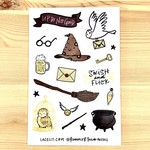 Lacelit Magicality Vinyl Sticker Sheet