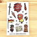 Lacelit Gryffinhouse Vinyl Sticker Sheet