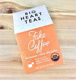 Big Heart Tea Co. Fake Coffee Herbal Tea Bags Box