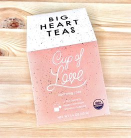Big Heart Tea Co. Cup Of Love Tea Bags Box